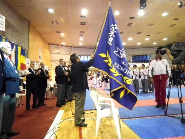 Flag of European Goju-kai