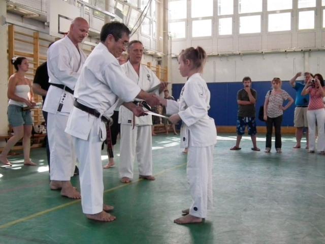 Grading ceremony