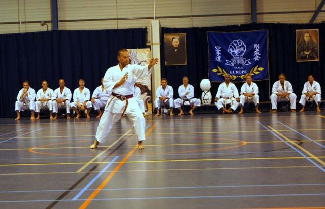 Ingo de Jong performed a Kata