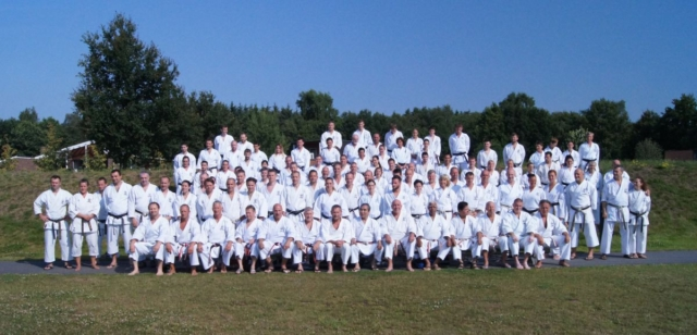 Group picture from international Semiar in the Netherlands